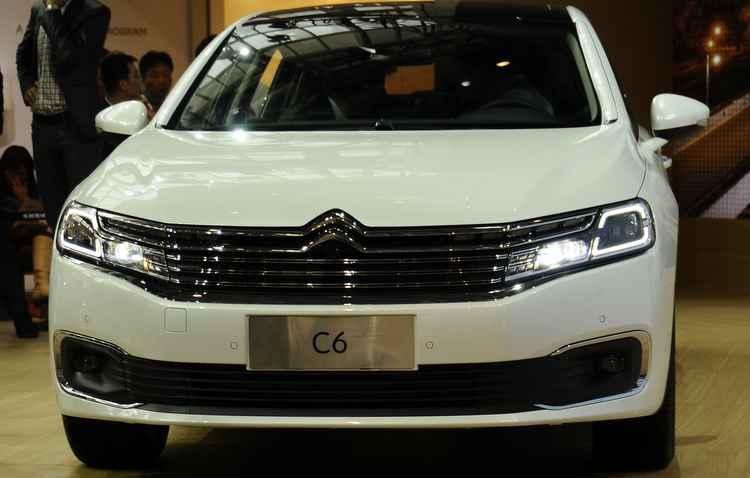 A Citroën  ressuscitou o C6 para o mercado chinês - Joint Photographic Experts Group / Divulgação