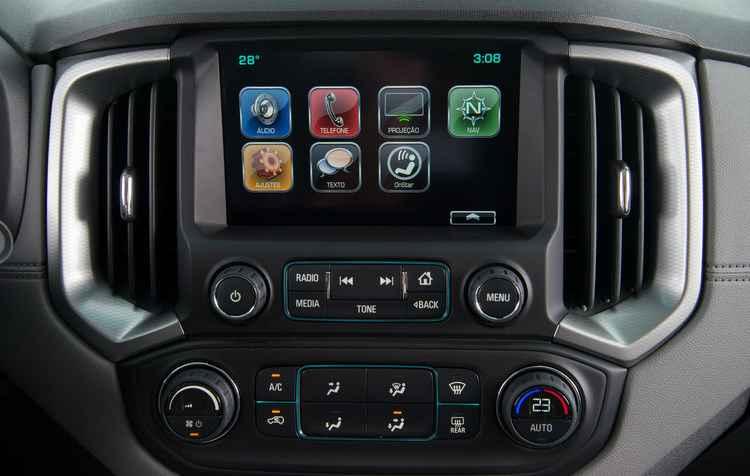 Modelo conta com a central multimídia OnStar, que, entre outras coisas, avisa quando o automóvel está sendo furtado ou envolveu-se em um acidente que resultou na deflagração dos airbags - Honda / Divulgação