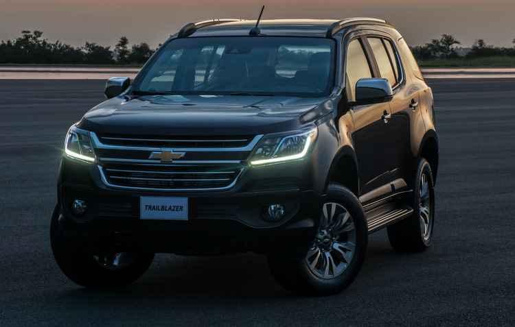 Além da tração 4x4 com reduzida, a SUV sai com motores de alta potência e torque: 3.6 V6 (279 cavalos) ou 2.8 TurboDiesel (200 cavalos) - Chevrolet / Divulgação