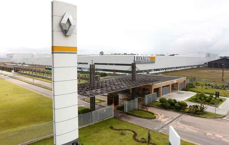 Complexo Ayrton Senna em São José do Pinhais, Curitiba, será a responsável pela produção - Renault / Divulgação