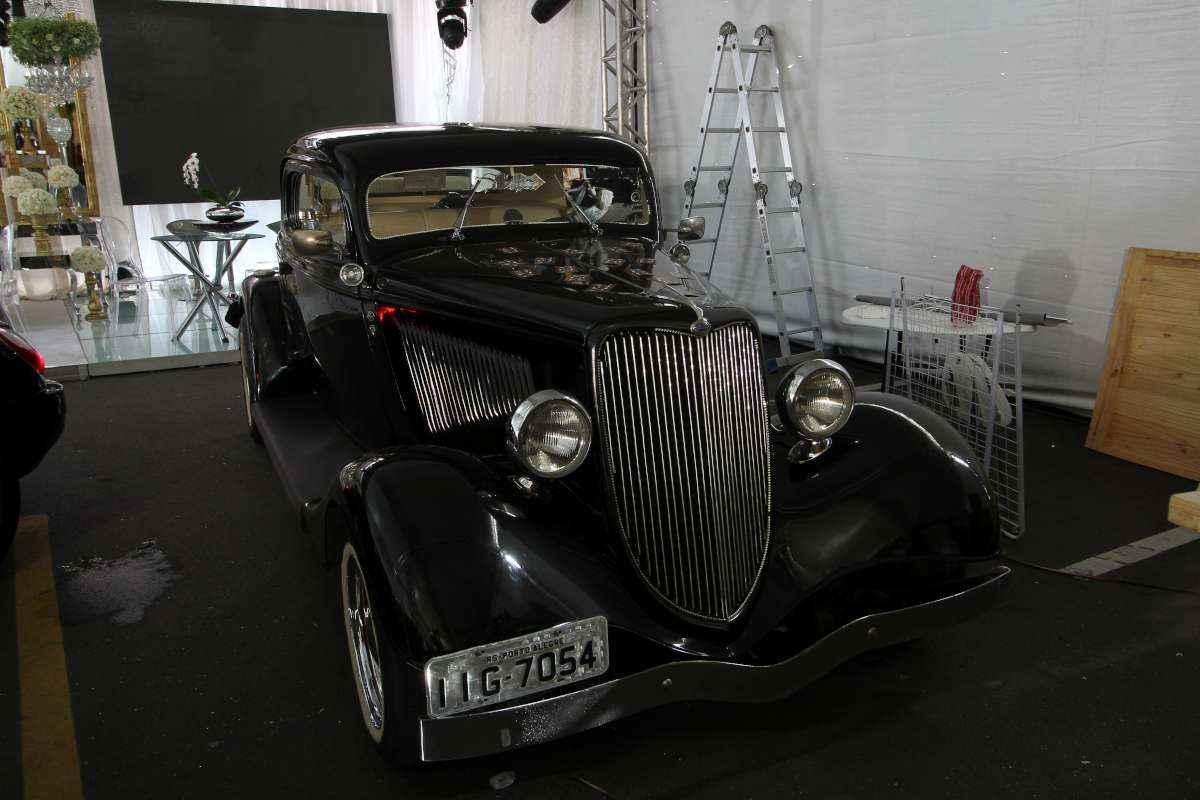 Ford 1934 é um clássico super procurado e tem até o banco da sogra  - Paulo Paiva/ DP