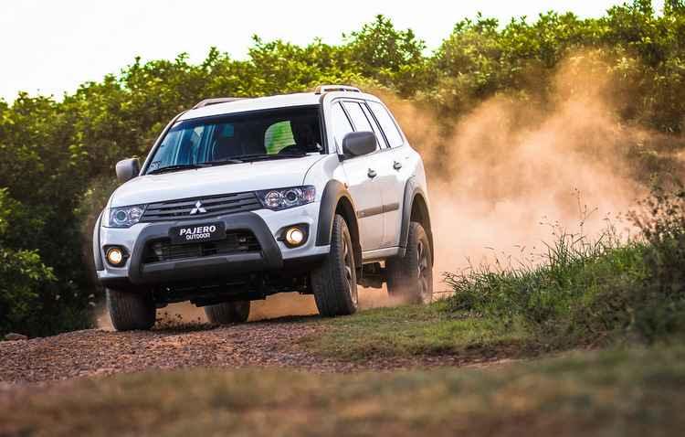 SUV ganhou elementos exclusivos e novas rodas - Mitsubishi/Divulgação
