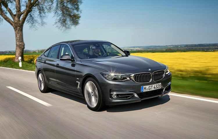BMW Série 3 GT passa por facelift