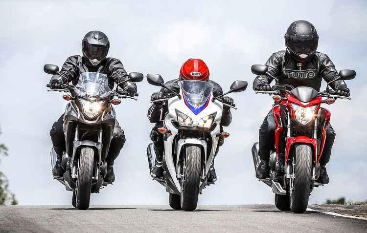 Nova linha, CBR 500X, CB 500R e CB 500F, chega com modernizações técnicas e visuais - Honda/Divulgação