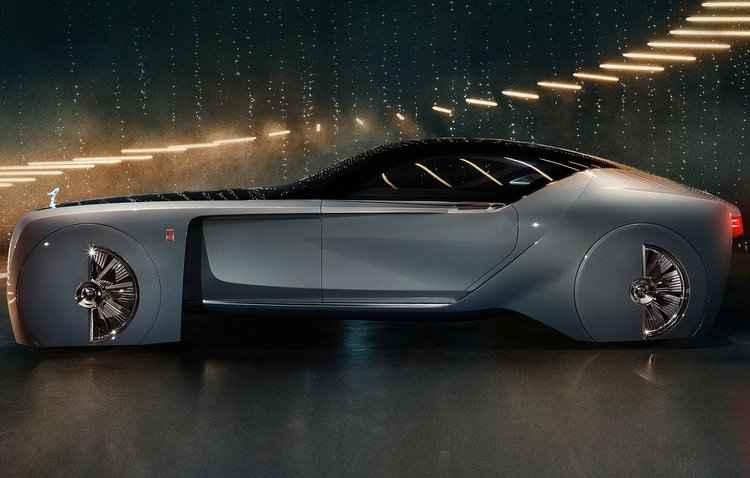 100% autônomo, modelo já dispensa volante - Rolls-Royce / Divulgação