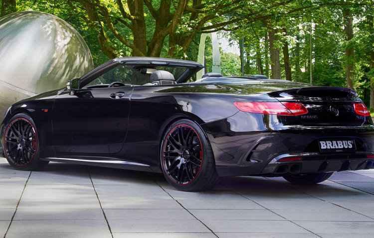 Mercedes-Benz S63 AMG cabriolet foi fonte para produção da novidade - Brabus / Sinônimo