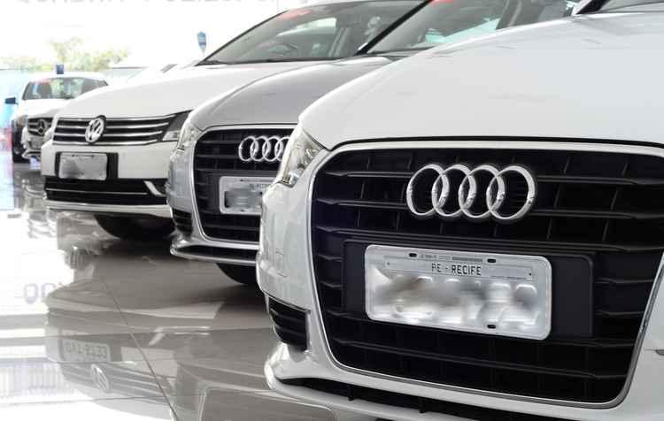 Modelos da Audi são mais procurados por jovens - João Velozo/DP