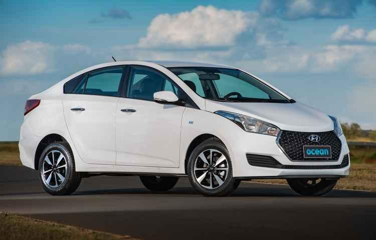 Grade frontal, rodas diamantadas e bancos em couro fazem parte da novidade - Hyundai/Divulgação