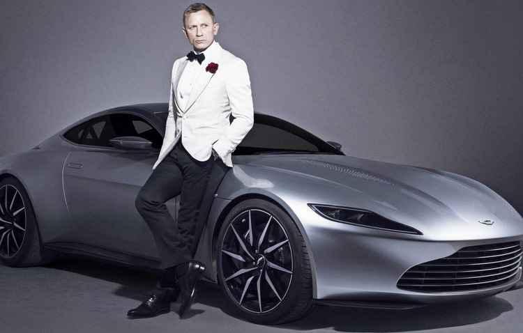 Há três edições a Aston Martin produz os veículos exclusivos de James Bond - Aston Martin/Divulgação