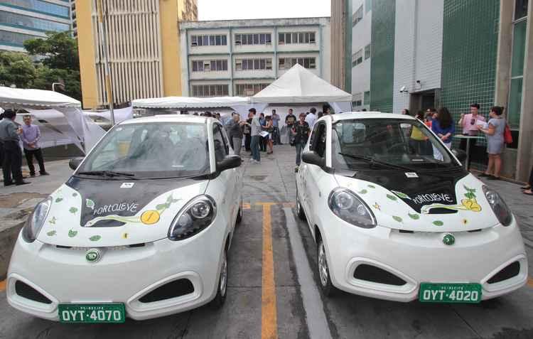 Recife é a cidade pioneira em compartilhamento de carros elétricos - Annaclarice / DP