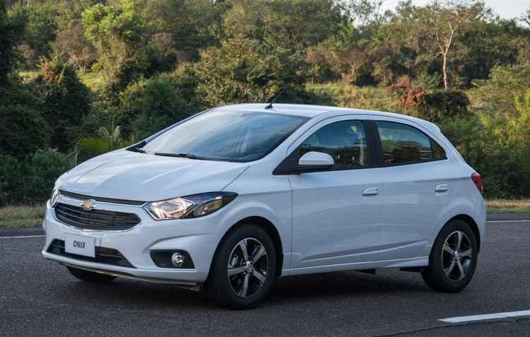 Onix continua na liderança dos veículos mais vendidos  - Chevrolet / Divulgação
