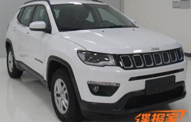 Jeep Compass aparece lá na China