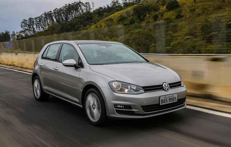 Com potência de 125 cavalos, Golf entra para a família TSI - Volkswagen / Divulgação