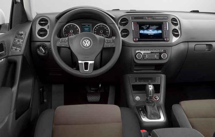 Sistema de infotainment  Composition Media com a tecnologia Volkswagen App Connect vem de série - Volkswagen / Divulgação