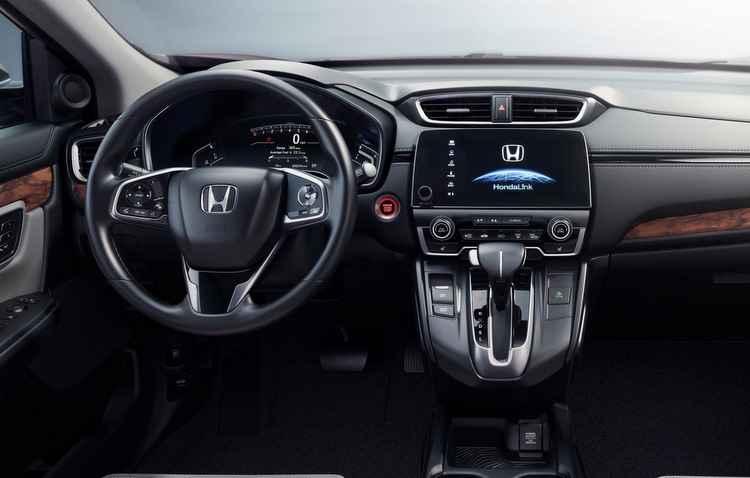 Botão físico do volume volta a existir no console - Honda / Divulgação