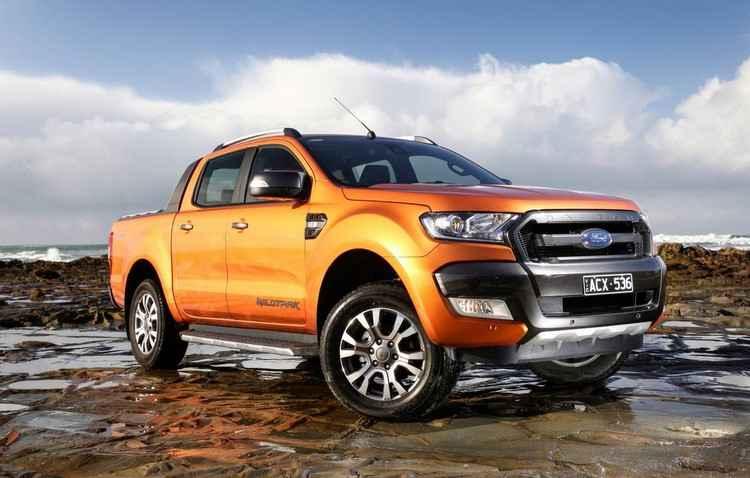 Ford Ranger Wildtrack no Brasil em novembro