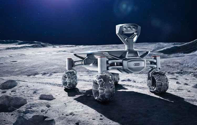 Veículo pode ser enviado à Lua em 2017 e pousar próximo ao Apolo 17 - Audi / Divulgação