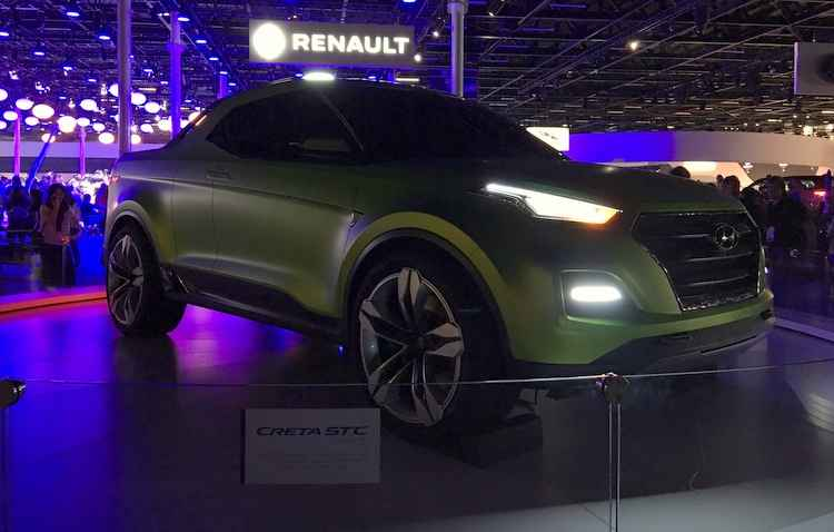 Hyundai lança Creta STC, modelo de picape esportiva, no Salão do Automóvel 2016 - Jorge Moraes/ DP