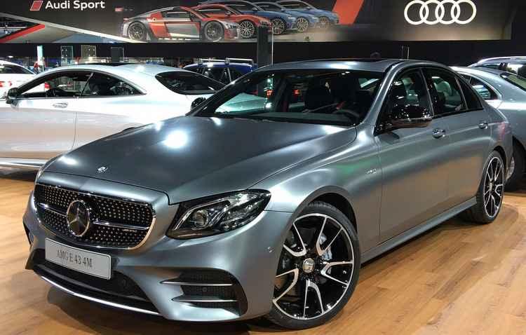 Mercedes apresenta versão sedã do Classe E - Jorge Moraes / DP