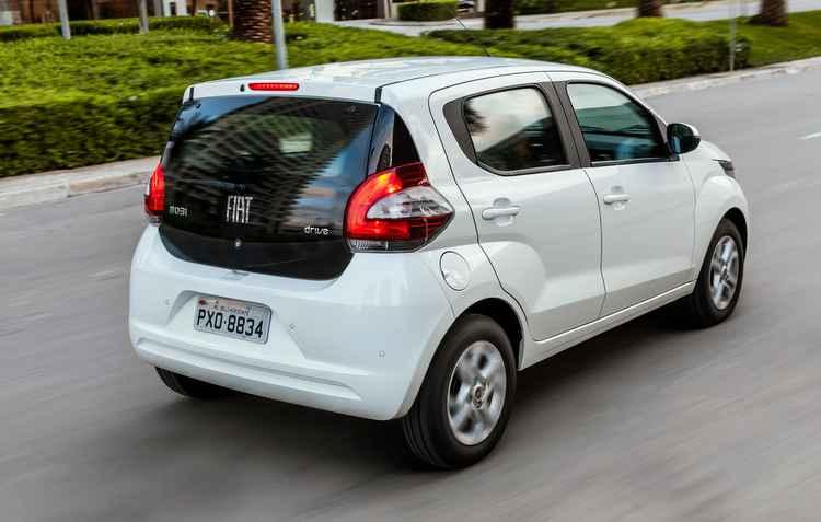 Compacto lançado há pouco figura entre os dez mais vendidos nos últimos dois meses - Fiat / Divulgação