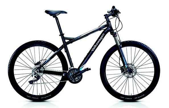 A bike é vendida em duas versões de bicicletas, uma de aro 27 e outra de aro 29.  - Volkswagen/Divulgação