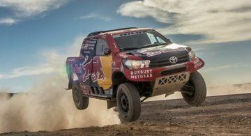 Toyota apoia Rally Dakar 2017