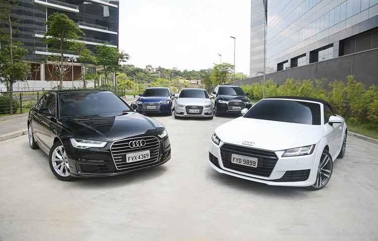 Audi já trabalha com programa que permite compartilhamento de carros - Audi / Divulgação