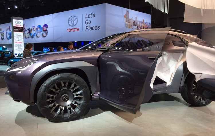 Lexus UX Concept foi apresentado ano passado no Salão de Paris sem muitas informações - Taciana Góes/DP