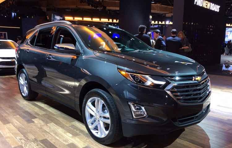 Chevrolet Equinox é o substituto do Captiva - Taciana Góes/DP