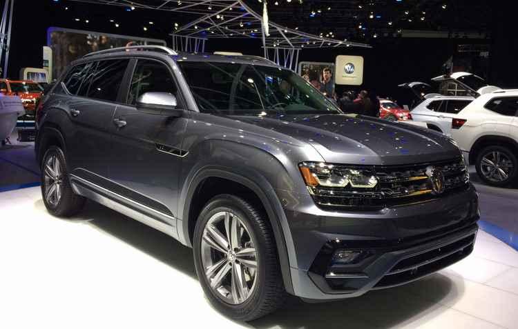 Salão de Detroit: Volkswagen exibe o novo Atlas