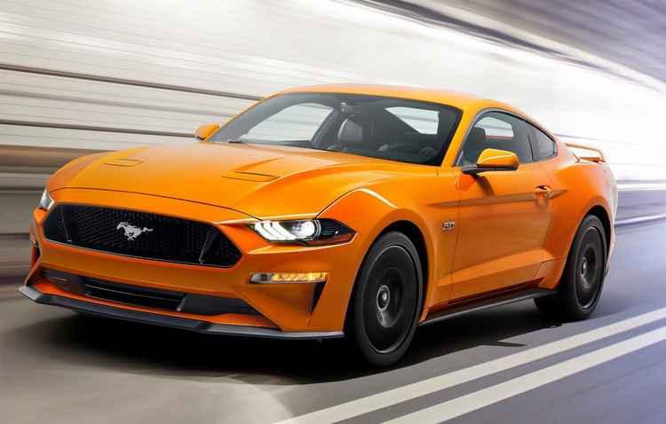 Motor 2.3 EcoBoost de quatro cilindros ganhou aumento no torque. Por dentro, bancos em couro com costura aparente - Ford/Divulgação