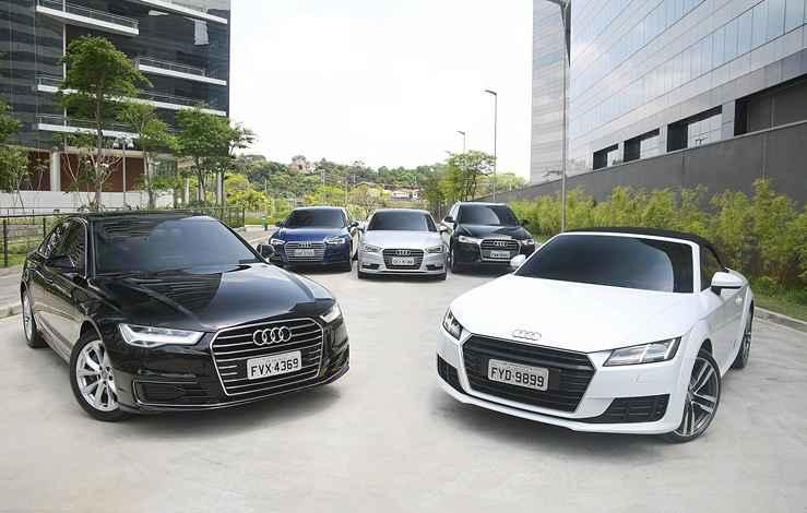 Audi Share é possibilidade de alugar carros de luxo - Audi/Divulgação