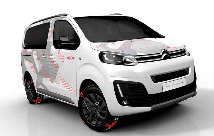 Citroën SpaceTourer 4X4 Ë Concept exibe estilo e conforto