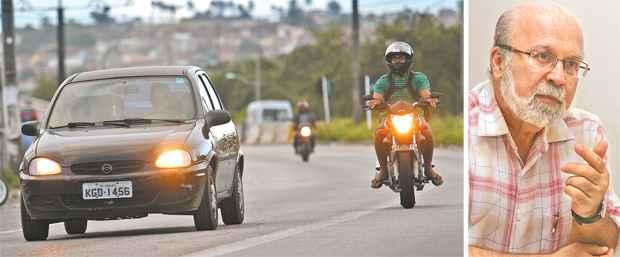 Para pesquisadores, a legislação contribui para um trânsito mais seguro - Arquivo DP