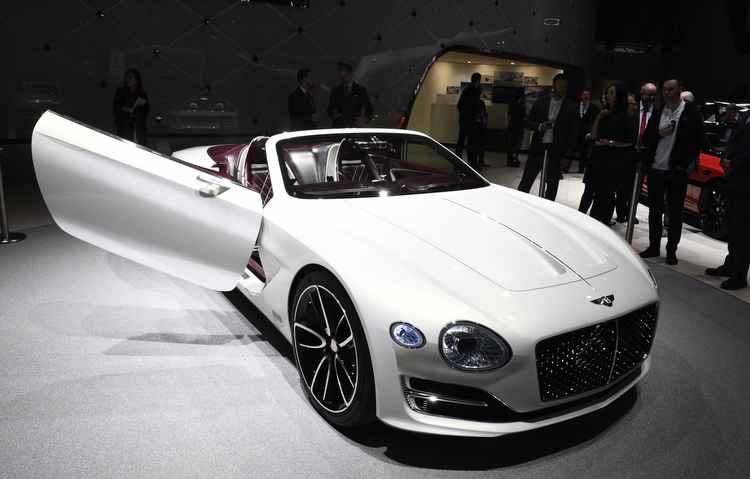 Salão de Genebra: Bentley apresenta conceito elétrico