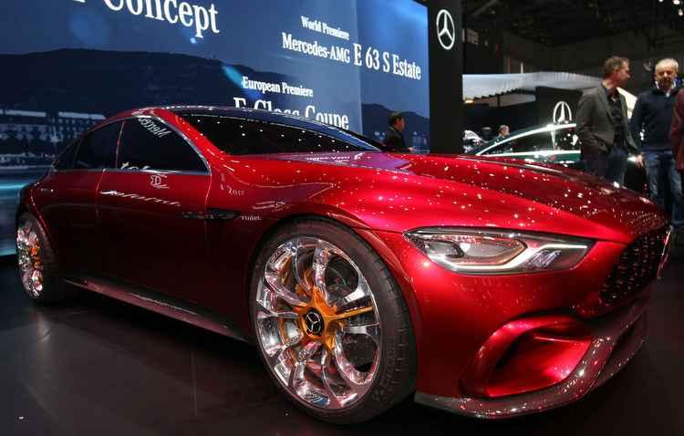 Salão de Genebra: Mercedes-Benz apresenta AMG GT