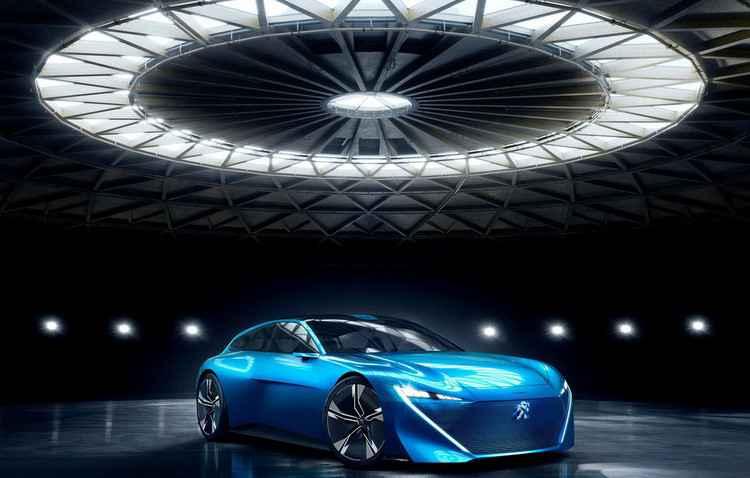Salão de Genebra: Peugeot apresenta Instinct