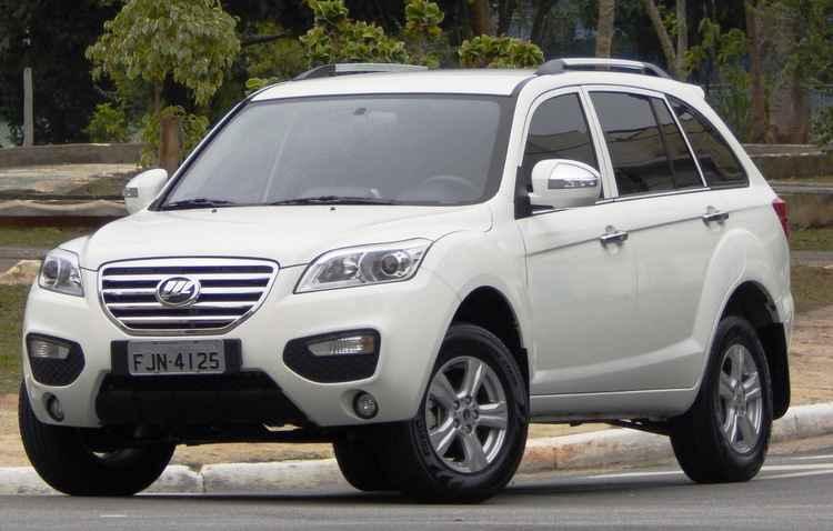 SUV, sigla em inglês para utilitário esportivo, representa a categoria de carros grandes com carroceria toda fechada - Lifan / Divulgação