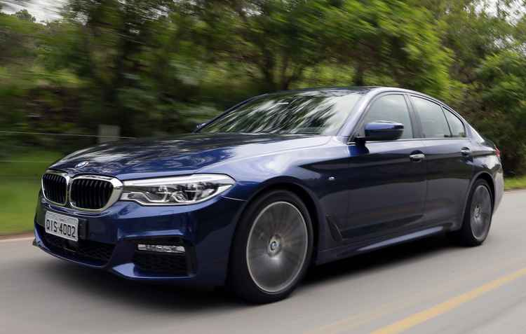 Duas opções fazem a sétima geração do Série 5: uma parte dos R$ 315 mil e a outra bate os R$ 400 mil - BMW/Divulgação