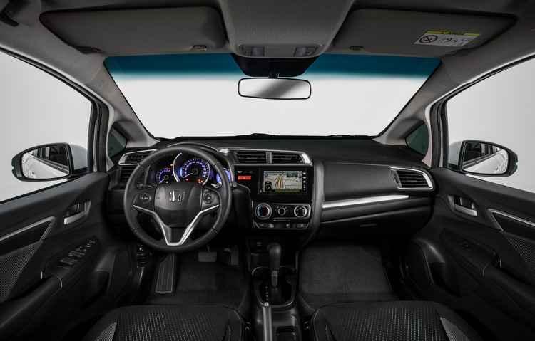 Som é oferecido por uma central multimídia com GPS - Honda/Divulgação