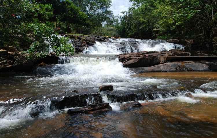As belas cachoeiras de Bonito são o destino da vez - Ricardo Fernandes/DP