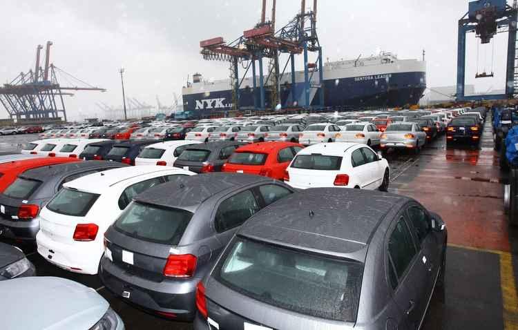 Número de veículos exportados aumentou 63% em relação ao ano passado - Volkswagen / Divulgação