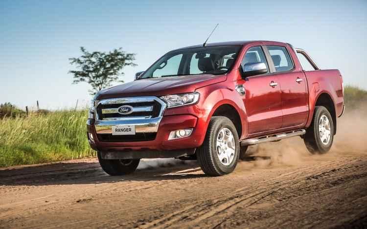 Ford Ranger cresce no segmento das picapes médias