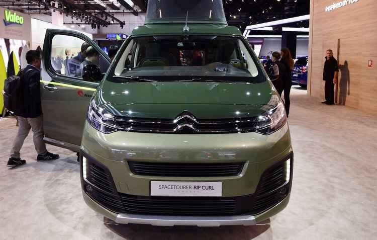 Salão de Frankfurt: Citroën mostra Space Tourer Rip Curl com aposta em viagen