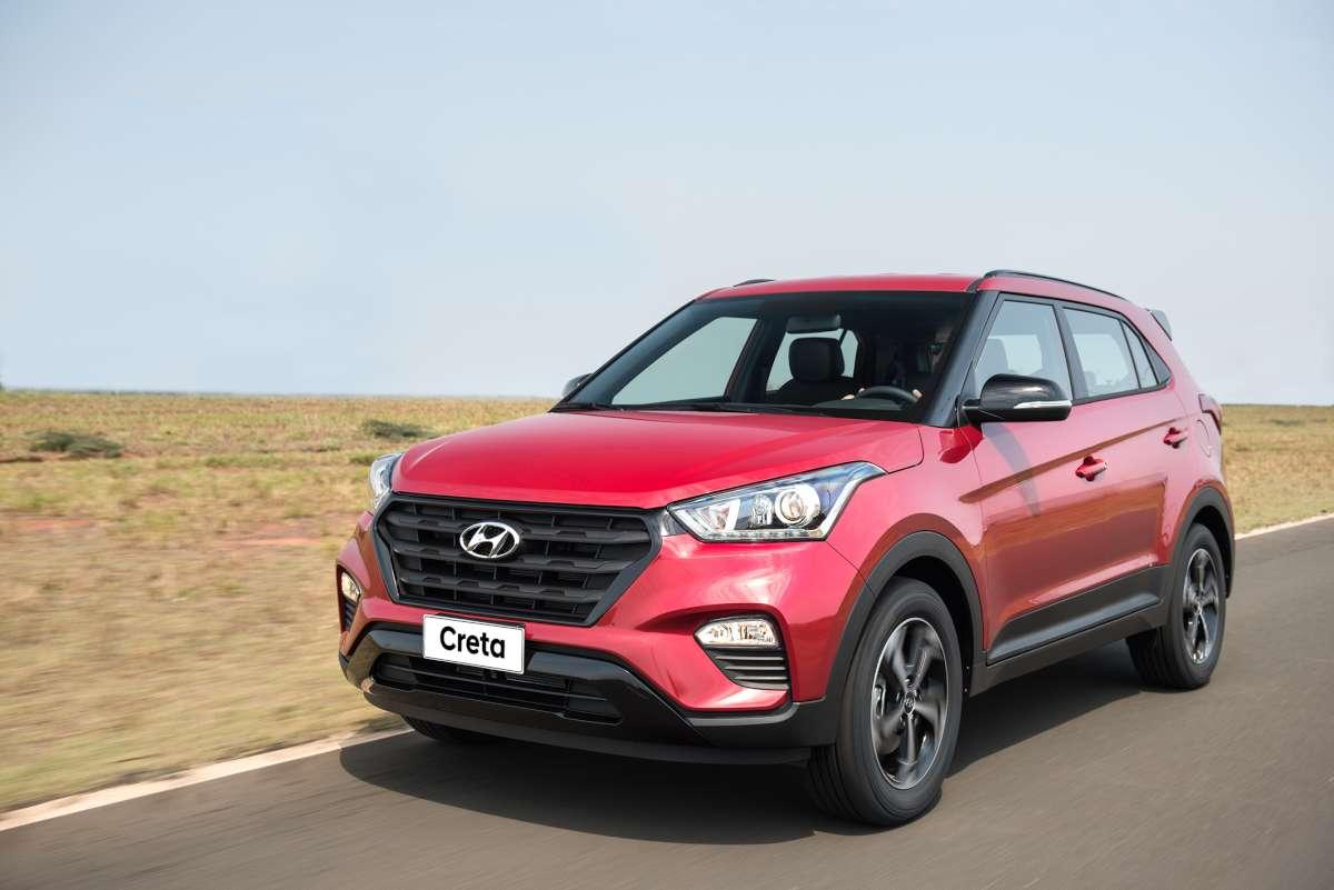 Hyundai disponibilizará versão Sport do SUV Creta
