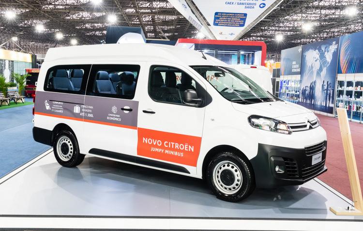 Citroën lança versão de 11 lugares do Jumpy