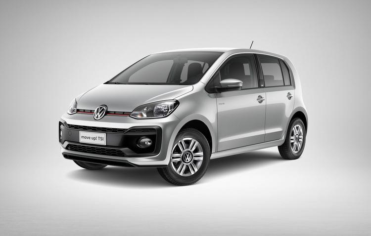 Volkswagen deixa Up! com apenas três versões
