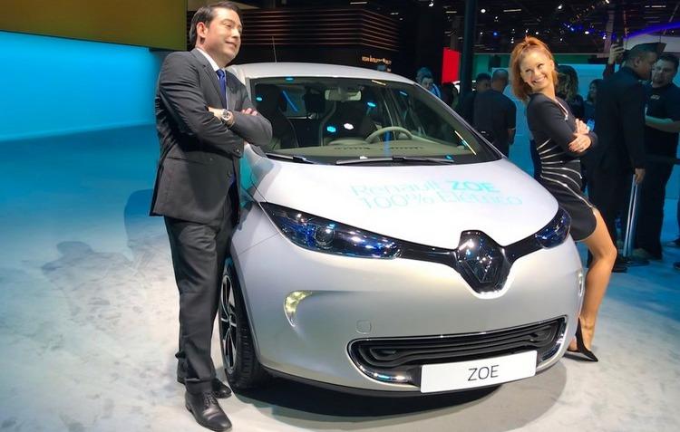 Renault Zoe 100% elétrico, por R$150 mil tem suas vendas abertas