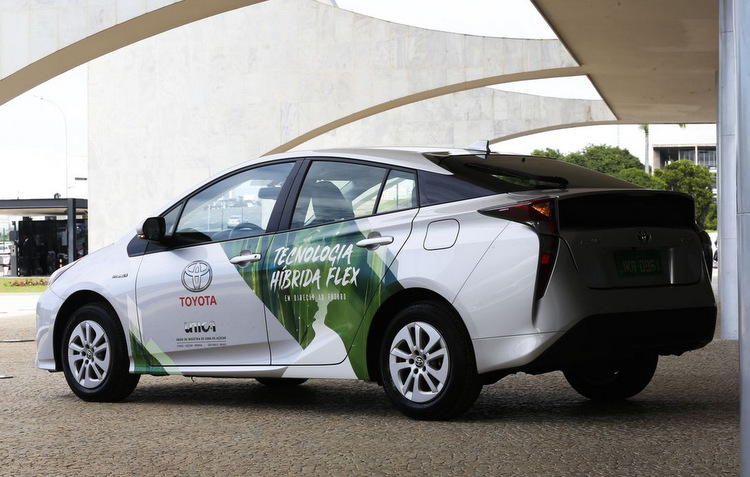 Toyota produzirá híbrido flex no Brasil