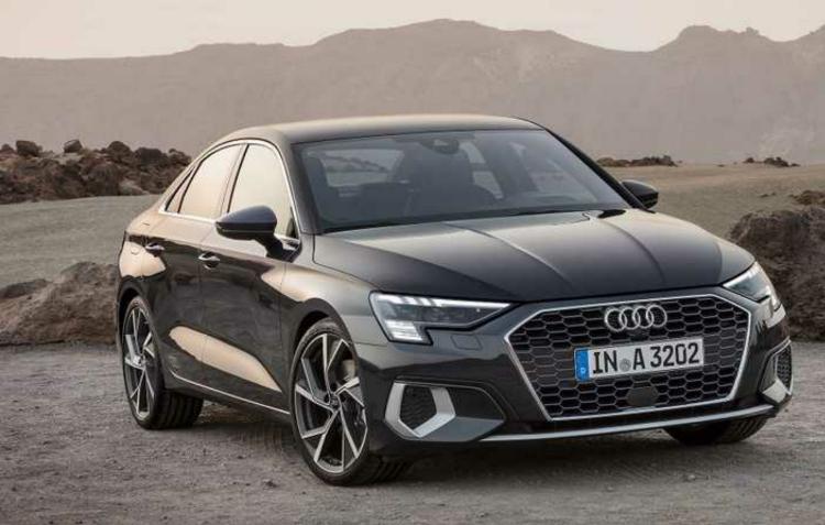 Audi divulga imagens do novo A3 sedã 2021 com linhas mais elegantes